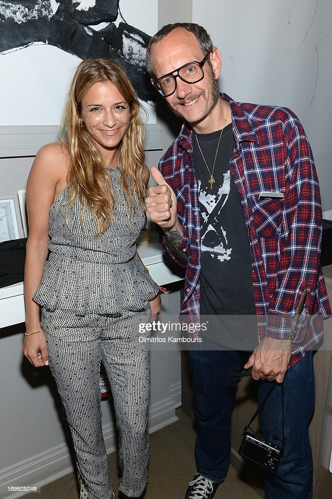 Fashion designer Charlotte Ronson and photographer Terry Richardson attend the 10th anniversary party of Billionaire Boys Club presented by HTC at Tribeca Canvas on June 4, 2013 in New York City.