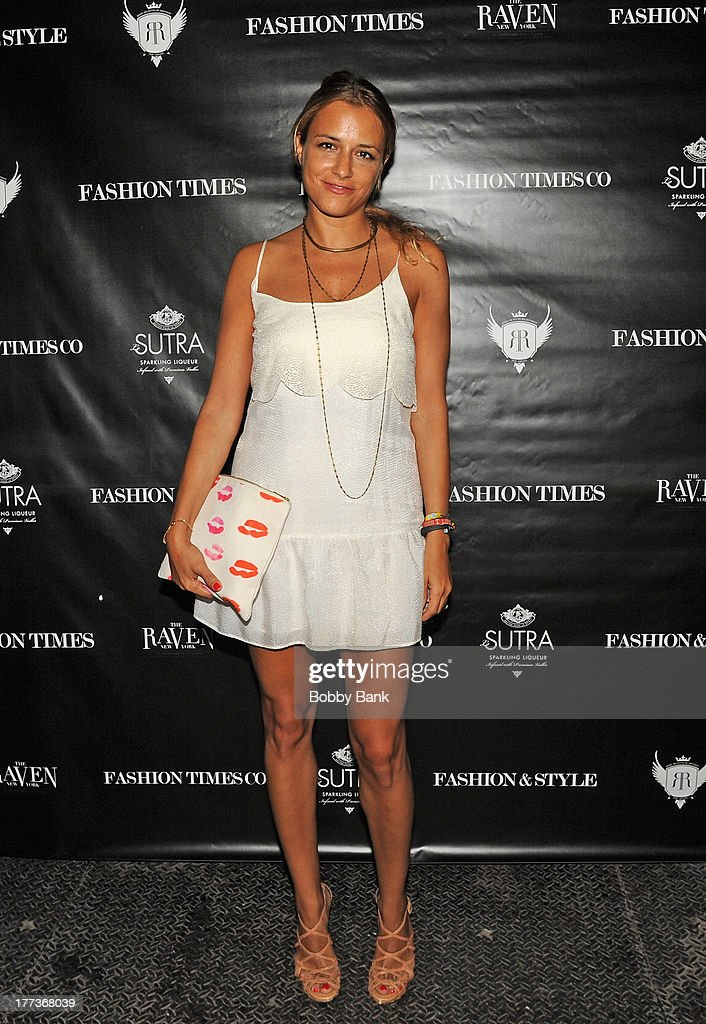 Fashion designer Charlotte Ronson attends Fashion & Style Launch at The Raven on August 22, 2013 in New York City.