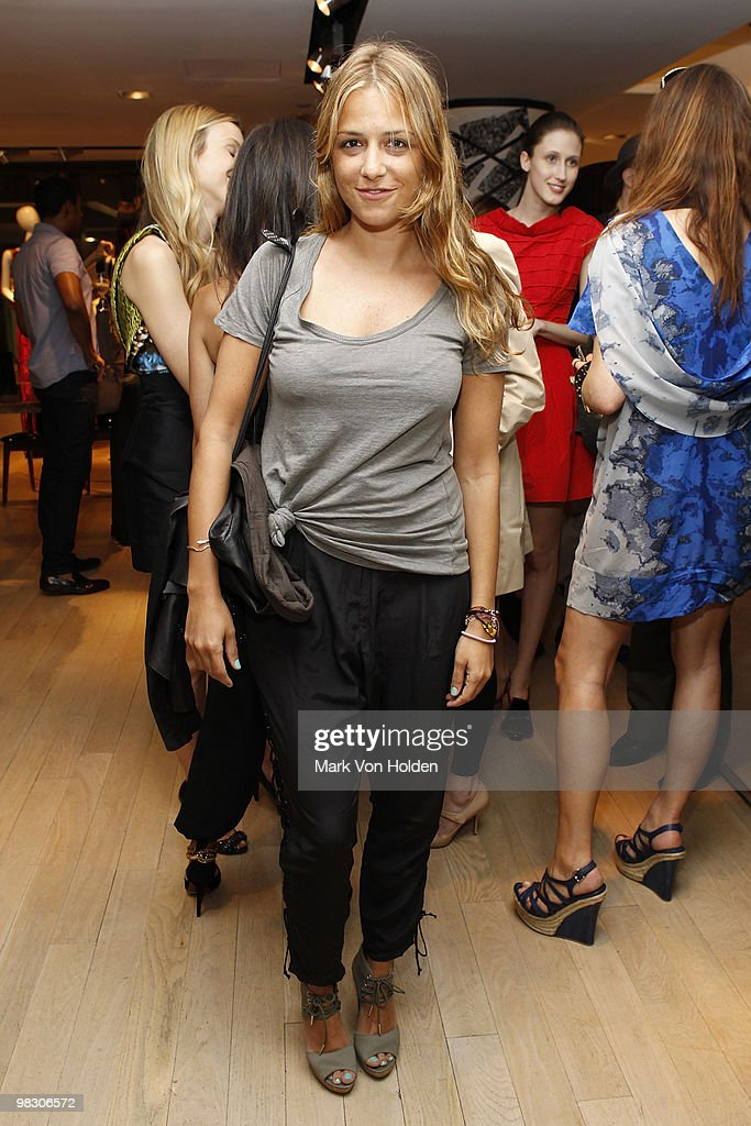 Fashion designer Charlotte Ronson attends the book party for Derek Blasberg's 'Classy' at Barneys New York on April 6, 2010 in New York City.