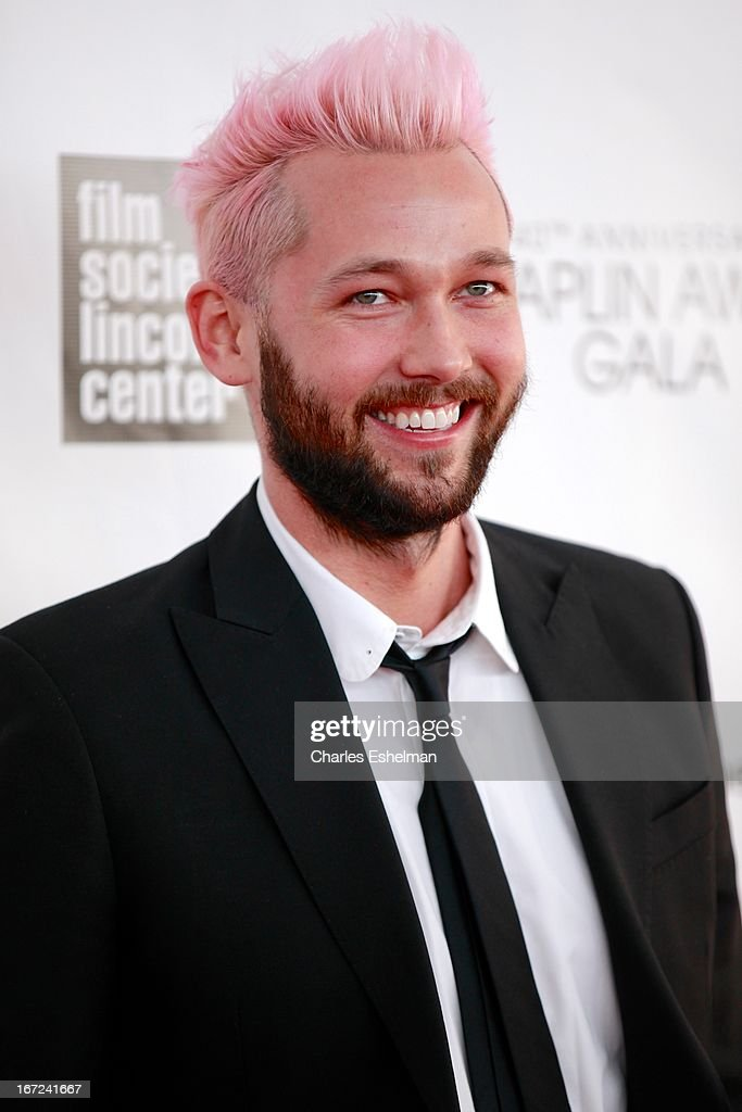 Fashion designer Chris Benz attends the 40th Anniversary Chaplin Award Gala at Avery Fisher Hall at Lincoln Center for the Performing Arts on April 22, 2013 in New York City.