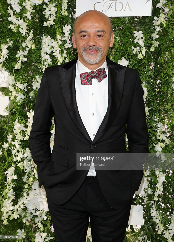 Fashion designer <a gi-track='captionPersonalityLinkClicked' href=/galleries/search?phrase=Christian+Louboutin+-+Fashion+Designer&family=editorial&specificpeople=4644509 ng-click='$event.stopPropagation()'>Christian Louboutin</a> arrives at the official 2016 CFDA Fashion Awards after party hosted by Samsung 837 in NYC on June 6, 2016 in New York City.