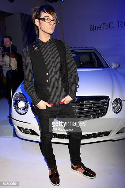 Fashion designer Christian Siriano attends the MERCEDESBENZ 'House of BlueTEC' Launch Party with Performance by SHERYL CROW at Splashlight Studios on...