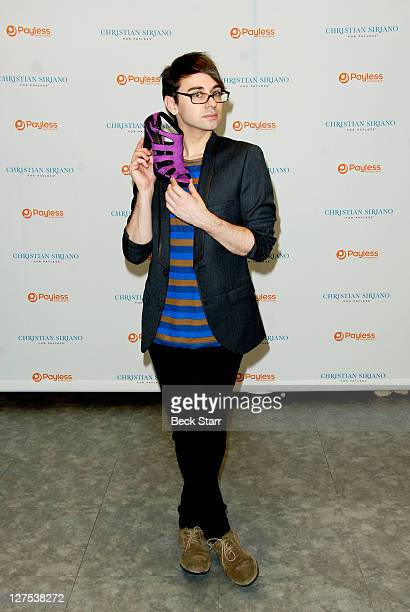 Fashion Designer Christian Siriano hosts a meet greet at Payless ShoeSource at Westside Pavilion on September 28 2011 in Los Angeles California