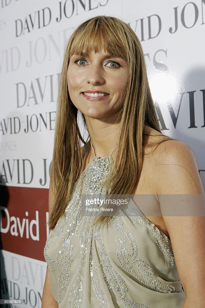Fashion designer Collette Dinnigan attends the David Jones Winter Collection Launch at the Town Hall February 16 2005 in Sydney Australia