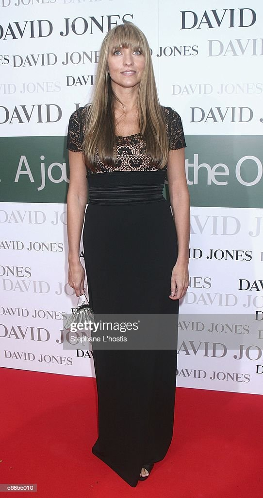 Fashion Designer Collette Dinnigan attends the David Jones Winter Collection 2006 in the City Town Hall on February 15 2006 in Sydney Australia