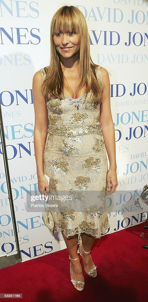 Fashion designer Collette Dinnigan attends the fashion parade for David Jones Summer 2005 Collection Launch at the W Hotel on August 10 2005 in...
