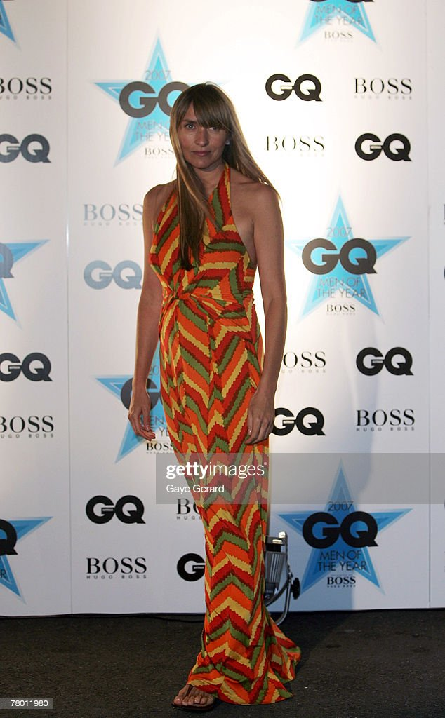 Fashion Designer Collette Dinnigan attends the GQ Men of the Year Awards at Fox Studios on November 20 2007 in Sydney Australia
