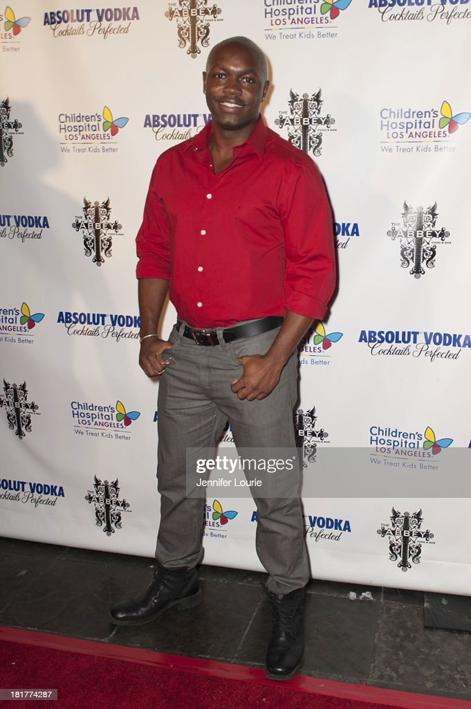 Fashion designer Damarcus Morton attends The Abbey's 8th Annual Christmas in September event benefiting The Children's Hospital Los Angeles at The Abbey on September 24, 2013 in West Hollywood, California.