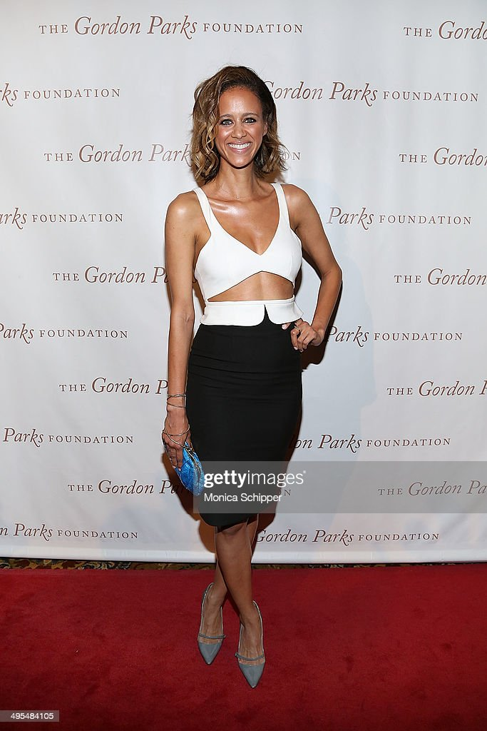 Fashion designer Danielle Schriffen attends 2014 Gordon Parks Foundation awards dinner at Cipriani Wall Street on June 3, 2014 in New York City.