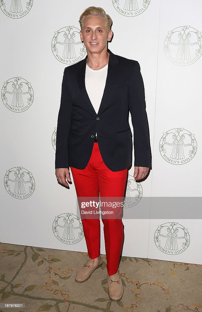 Fashion designer David Meister attends the Women's Guild Cedars-Sinai Spring Luncheon honoring Victoria Reggie Kennedy at the Beverly Hills Hotel on May 3, 2013 in Beverly Hills, California.