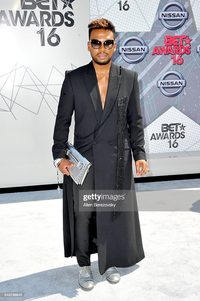 Fashion designer David Tlale attends the 2016 BET Awards at Microsoft Theater on June 26, 2016 in Los Angeles, California.
