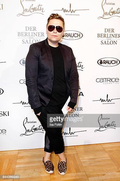 Fashion designer Dawid Tomaszewski attends the Marina Hoermanseder defilee during the Der Berliner Mode Salon Spring/Summer 2017 at Kronprinzenpalais...