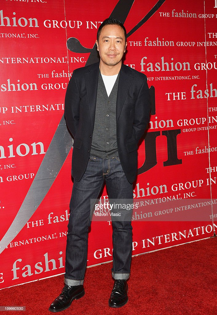 Fashion designer Derek Lam attends the 15th annual Fashion Group International Rising Star at Cipriani 42nd Street on January 24, 2013 in New York City.