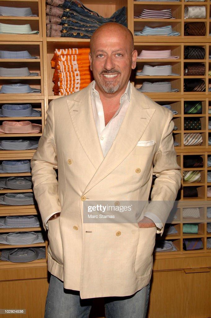 Fashion Designer Domenico Vacca attends the Domenico Vacca Denim Preview at Domenico Vacca on July 15, 2010 in New York City.
