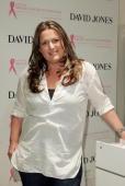 Fashion designer Donna Hay attends the inaugural David Jones National Breast Cancer Foundation Donation Day at the David Jones Elizabeth Street...