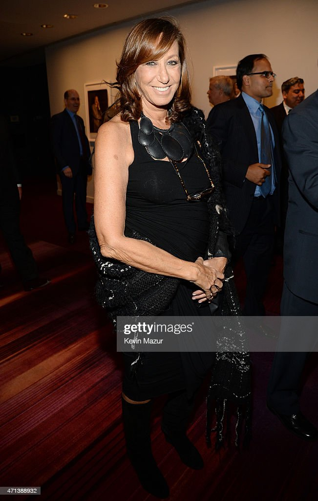 Fashion designer <a gi-track='captionPersonalityLinkClicked' href=/galleries/search?phrase=Donna+Karan+-+Fashion+Designer&family=editorial&specificpeople=4206478 ng-click='$event.stopPropagation()'>Donna Karan</a> attends the 42nd Chaplin Award Gala at Jazz at Lincoln Center on April 27, 2015 in New York City.