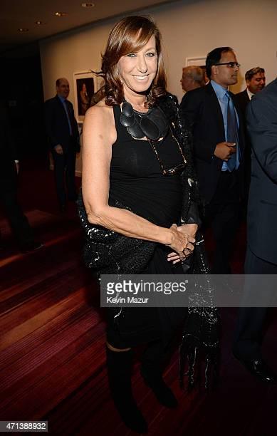 Fashion designer Donna Karan attends the 42nd Chaplin Award Gala at Jazz at Lincoln Center on April 27 2015 in New York City