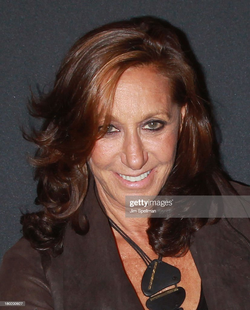 Fashion designer Donna Karan attends the #DKNY25 Birthday Bash at 23 Wall Street on September 9, 2013 in New York City.