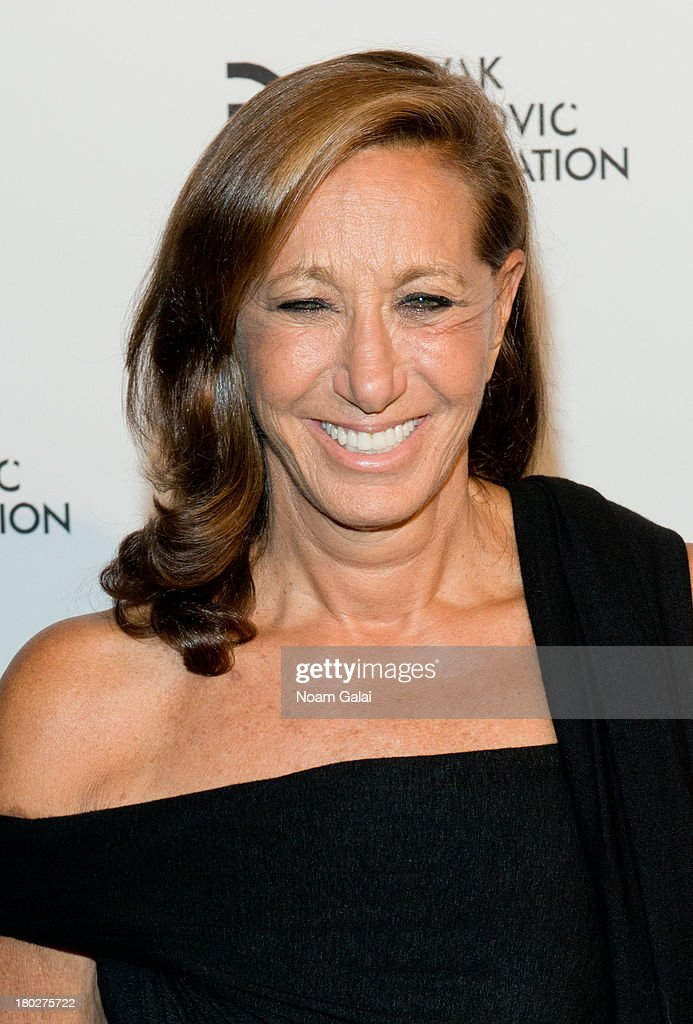 Fashion designer Donna Karan attends the The 2013 Novak Djokovic Foundation Dinner at Capitale on September 10, 2013 in New York City.