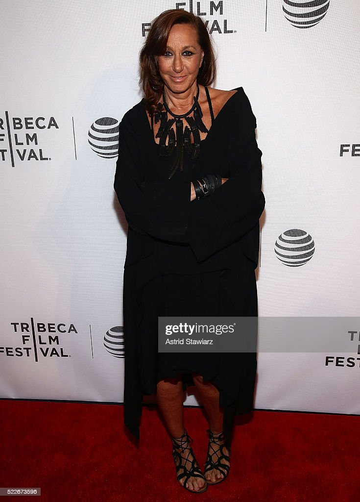 Fashion designer <a gi-track='captionPersonalityLinkClicked' href=/galleries/search?phrase=Donna+Karan+-+Fashion+Designer&family=editorial&specificpeople=4206478 ng-click='$event.stopPropagation()'>Donna Karan</a> attends the Tribeca Daring Women Summit during the 2016 Tribeca Film Festival at Spring Studios on April 19, 2016 in New York City.