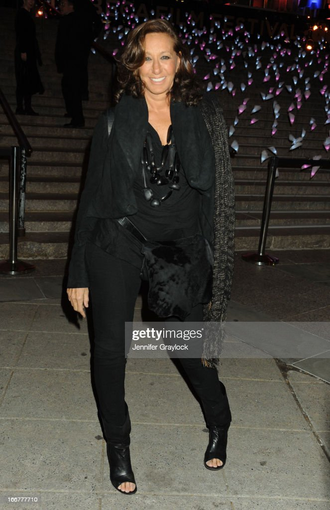 Fashion designer Donna Karan attends the Vanity Fair Party 2013 Tribeca Film Festival Opening Night Party held at the New York State Supreme Courthouse on April 16, 2013 in New York City.