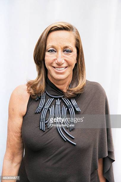 Fashion designer Donna Karan is photographed at United Nations and Unilever Event on September 23 2014 in New York City