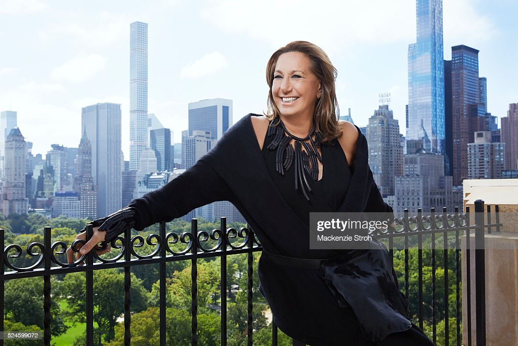 Fashion designer <a gi-track='captionPersonalityLinkClicked' href=/galleries/search?phrase=Donna+Karan+-+Fashion+Designer&family=editorial&specificpeople=4206478 ng-click='$event.stopPropagation()'>Donna Karan</a> is photographed for Wall Street Journal on October 5, 2015 in New York City.