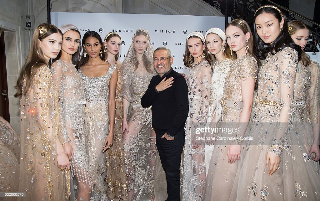 Elie Saab : Backstage - Paris Fashion Week - Haute Couture Spring Summer 2017