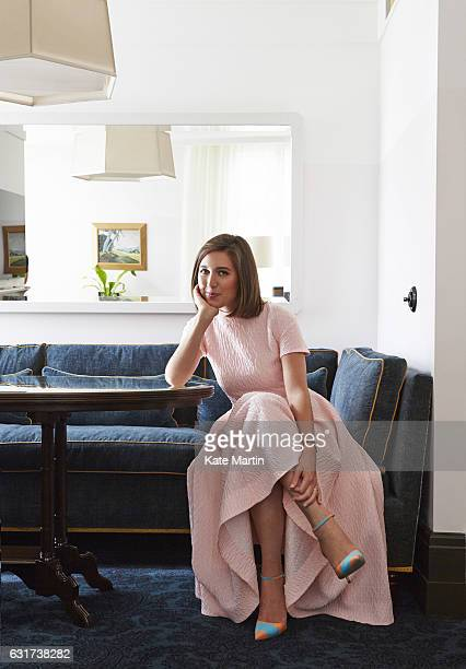 Fashion designer Emilia Wickstead is photographed on September 7 2014 in London England