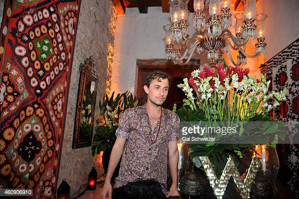 Fashion designer Esteban Cortazar during the Pre New Year´s Affair in celebration of the Opening of W Bogotá held at Casa de las Ruinas on December...