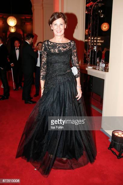 Fashion designer Eva Lutz attends the GQ Men of the year Award 2017 after show party at Komische Oper on November 9 2017 in Berlin Germany