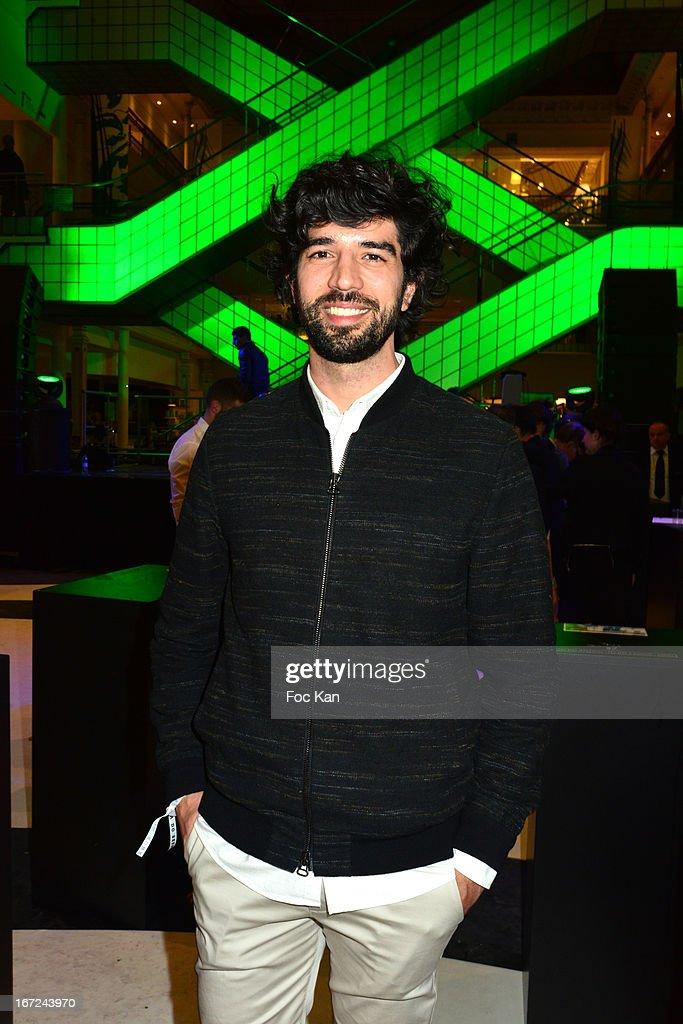 Fashion designer Fernando Jorge attends the 'Le Bresil Rive Gauche' Exhibition At Le Bon Marche on April 22, 2013 in Paris, France.