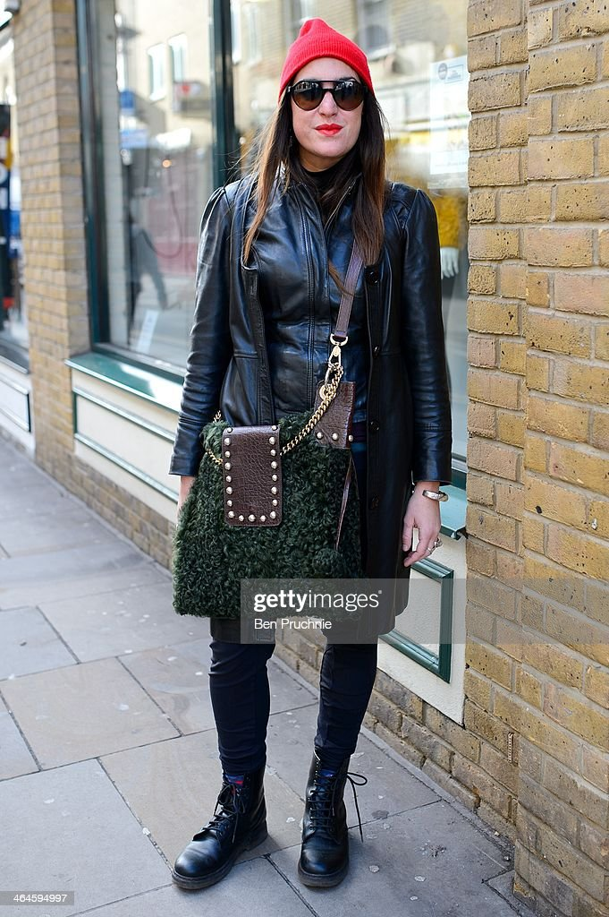 London Street Style January 20 To January 26 2014 Getty Images