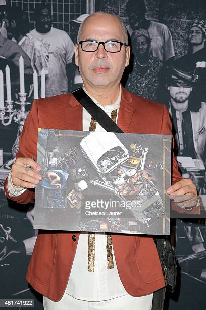 Fashion Designer / Frank LA collaborator Louis Verdad arrives at the Frank LA Issue release celebration 'No 001 No Place Like Home' benefitting LAMP...