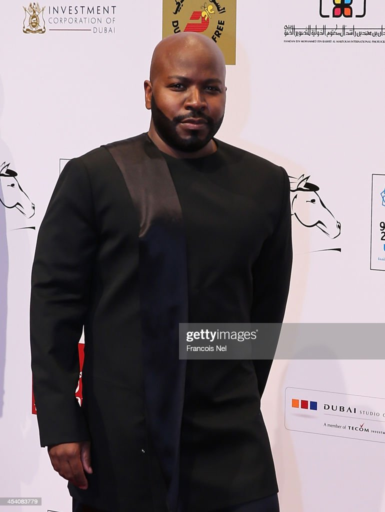 Fashion Designer Franklin Eugene attends Dubai International Film Festival on December 6, 2013 in Dubai, United Arab Emirates. Franklin Eugene is wearing 'The Ipston' from his forthcoming collection of men's wear, Franklin Eugene Resort - Men's Spring/Summer 2015.