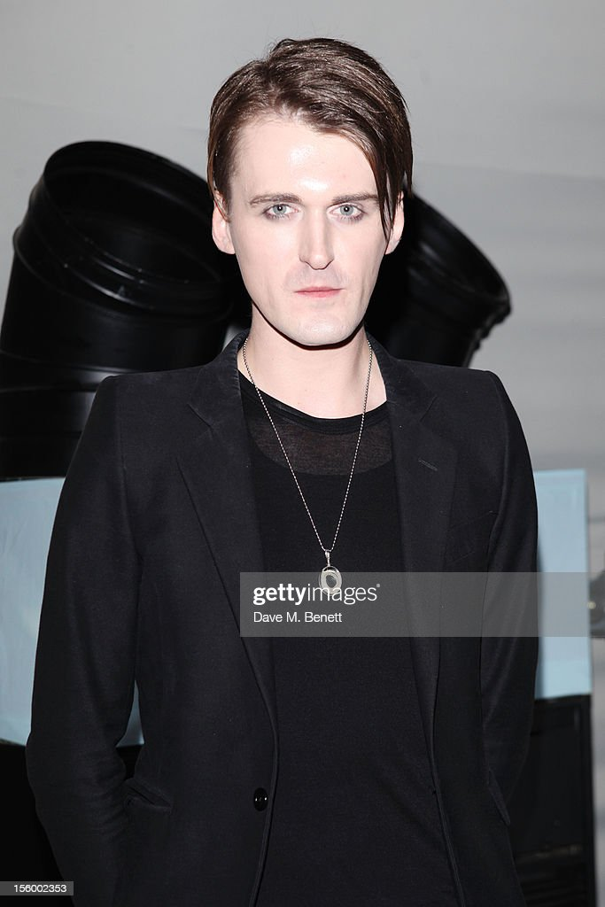 Fashion designer Gareth Pugh attends the Grey Goose Winter Ball at Battersea Power Station on November 10, 2012 in London, England.