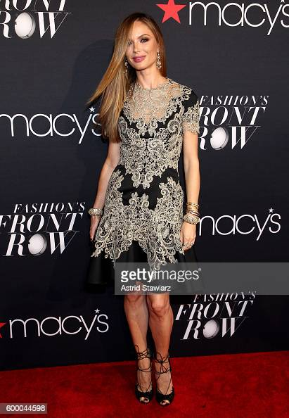 Fashion designer Georgina Chapman attends Macy's Presents Fashion's Front Row on September 7 2016 in New York City