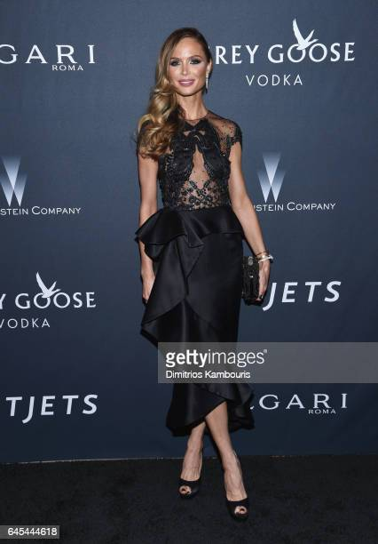 Fashion designer Georgina Chapman attends The Weinstein Company's PreOscar Dinner in partnership with Bvlgari and Grey Goose at Montage Beverly Hills...
