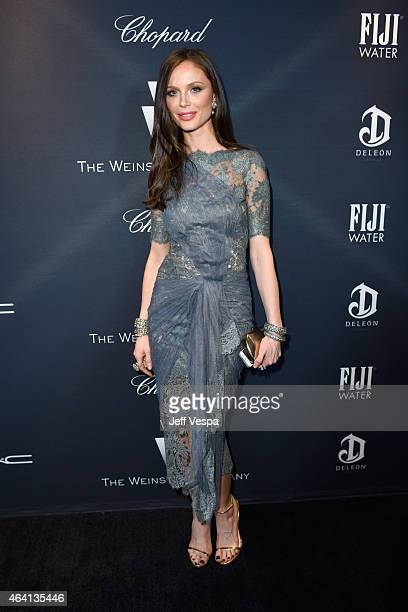 Fashion designer Georgina Chapman attends The Weinstein Company's Academy Awards Nominees Dinner in partnership with Chopard DeLeon Tequila FIJI...