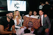 Fashion designer Germaine Renner former NBA player and Founder of Active Dreamers Jack McClinton and head coach Tyronn Lue of the Cleveland Cavaliers...