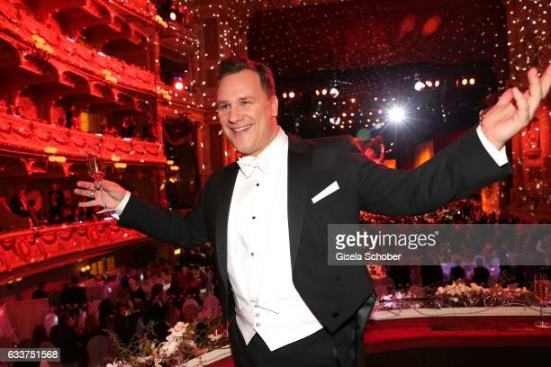 Fashion designer Guido Maria Kretschmer during the Semper Opera Ball 2017 at Semperoper on February 3 2017 in Dresden Germany