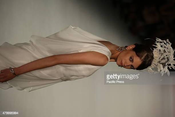 Fashion designer Guido Maria Kretschmer showcases his latest spring summer 2016 collection at MercedesBenz Fashion Week Berlin