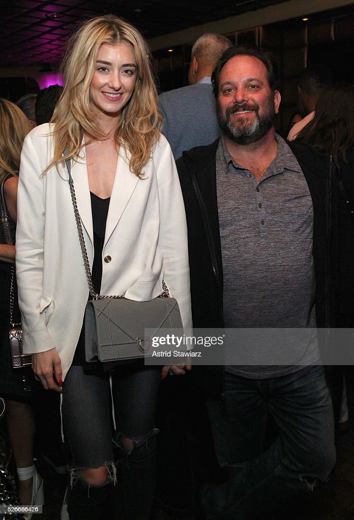 Fashion designer Haley Lankau and Andrew Heiberger attend an exclusive event with DuJour's Jason Binn and Nicole Vecchiarelli to celebrate the 'Steven Tyler...Out On A Limb' charity show benefitting Janie's Fund at LAVO on April 30, 2016 in New York City.
