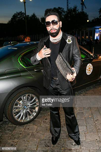 Fashion Designer Harald Gloeoeckler attends the7th VITA Charity Gala in Wiesbaden on September 24 2016 in Wiesbaden Germany