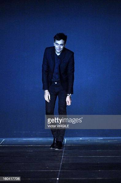 Hedi slimane stock photos and pictures getty images for Bureau yves saint laurent