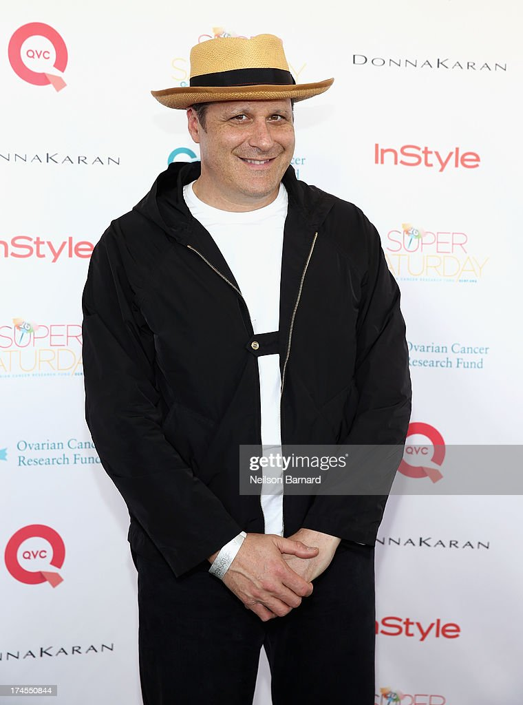 Fashion Designer Isaac Mizrahi attends QVC Presents Super Saturday LIVE! at Nova's Ark Project on July 27, 2013 in Water Mill, New York.
