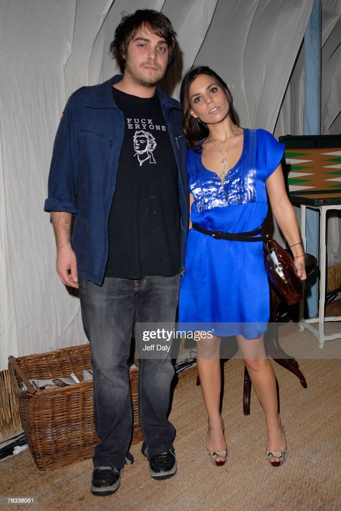 Fashion designer Izzy Gold and Ally Hilfiger attend the Grand Classics event hosted by Dennis and Victoria Hopper at the Soho Beach Lounge on...