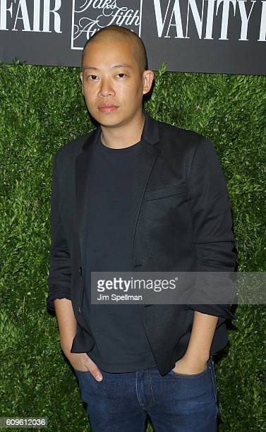 Fashion designer Jason Wu attends the 2016 Vanity Fair International Best Dressed List at Saks Fifth Avenue on September 21 2016 in New York City
