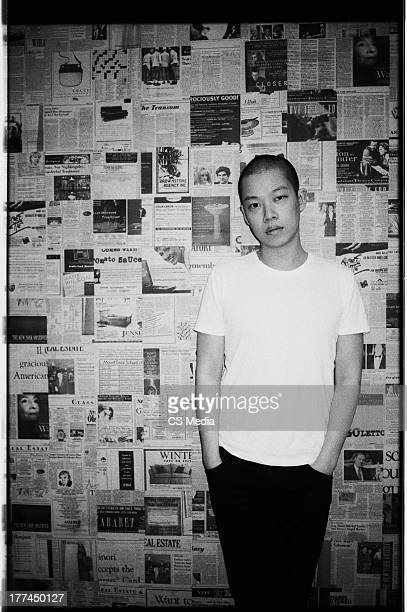 Fashion designer Jason Wu is photographed on March 25 2011 in New York City