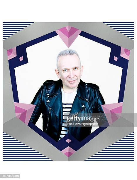 Fashion designer Jean Paul Gaultier is photographed for Madame Figaro on February 27 2015 in Paris France PUBLISHED IMAGE CREDIT MUST READ Lisa...